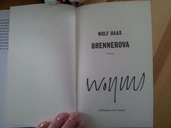 Wolf Haas Brennerova